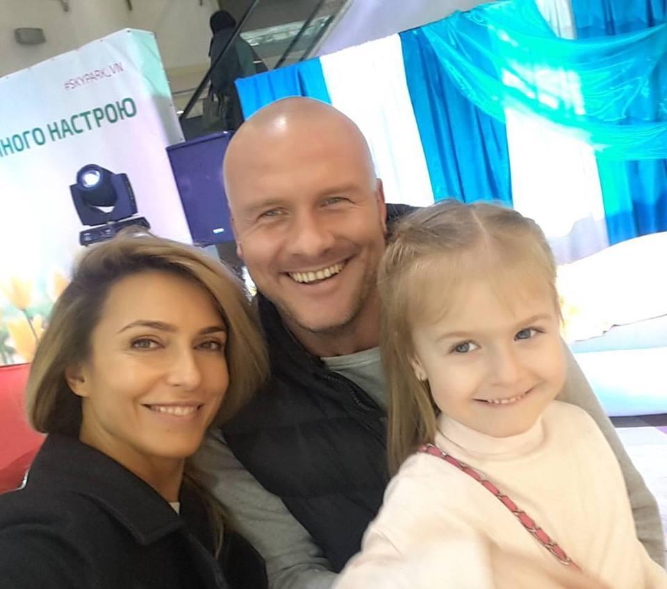 Вячеслав Узелков и его жена Марина