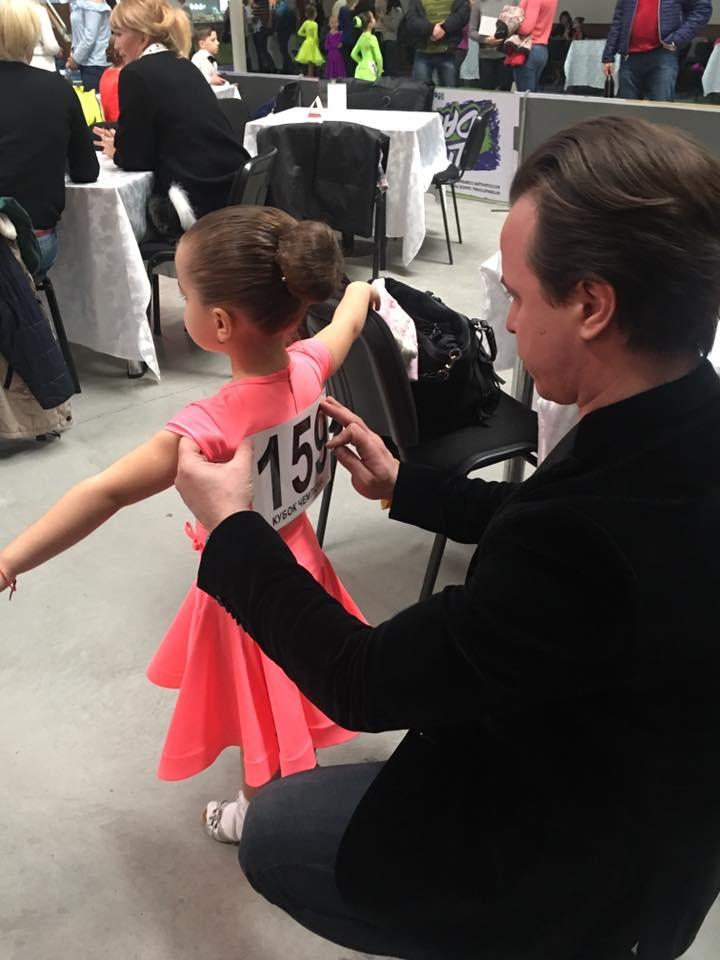 Мамина гордость: дочь Лилии Ребрик победила в первом соревновании по бальным танцам