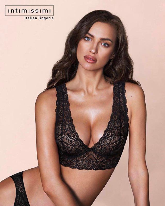 Ирина Шейк блистает в новой сексуальной рекламе