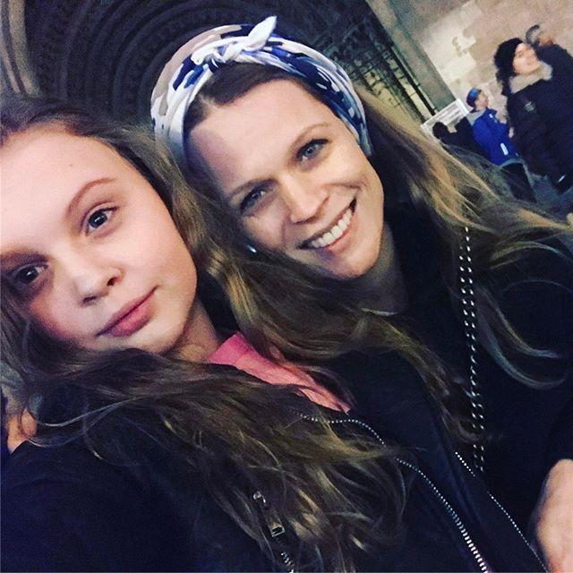 Путешествуем вместе: Ольга Фреймут с дочерью Златой отправились в Вену
