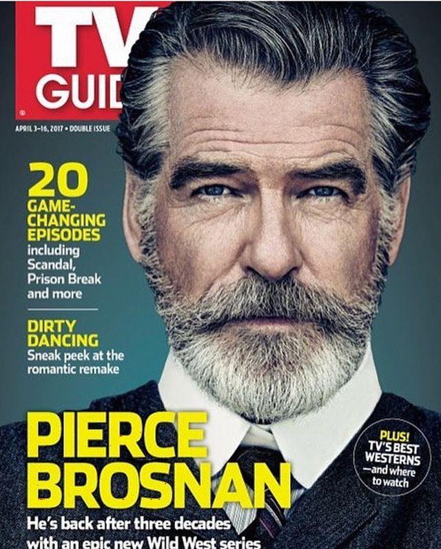 Седовласый секс-символ: Пирс Броснан снялся для обложки журнала