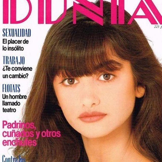 """Пенелопа Крус показала свою первую обложку для глянца: """"Мне было всего 14 лет"""""""