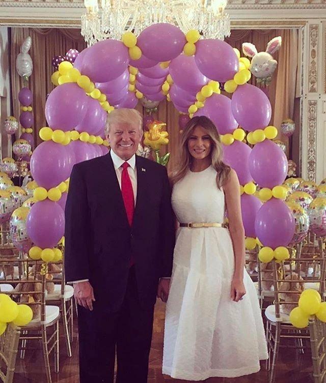 Стильно и элегантно: в каком платье Мелания Трамп отпраздновала Пасху