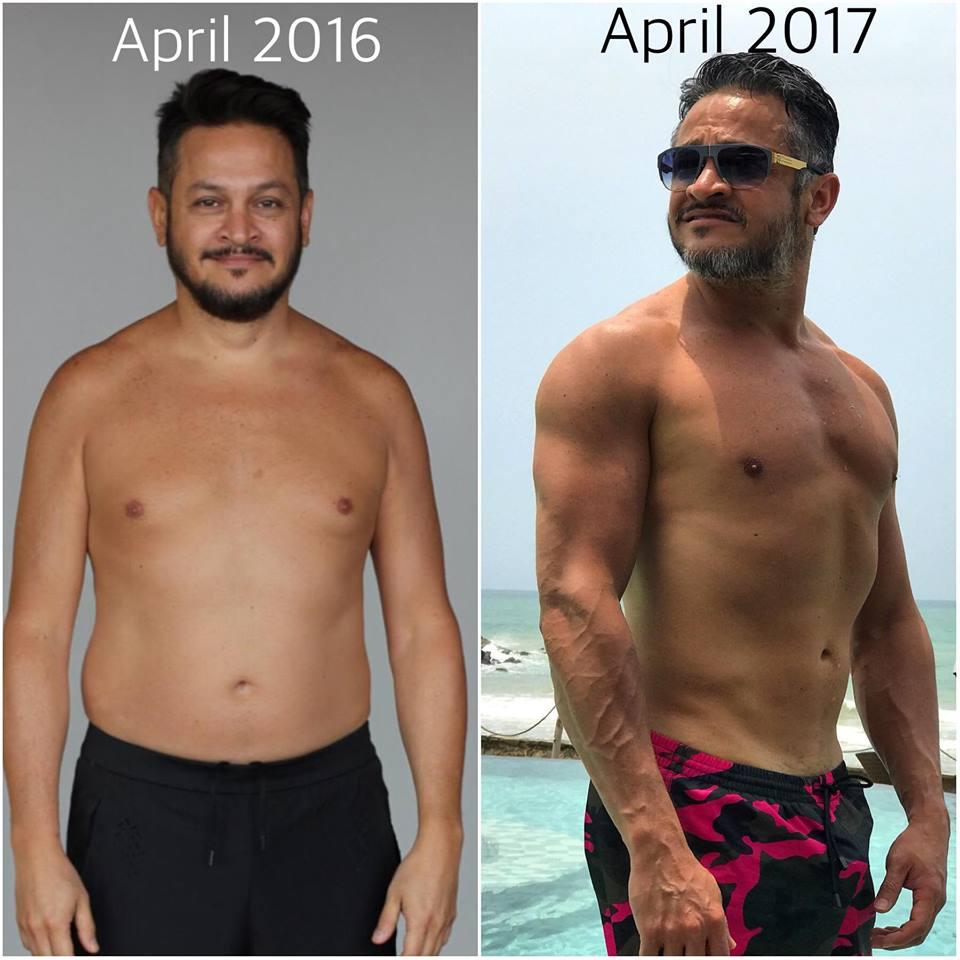 Не узнать: Эктор Хименес-Браво сильно похудел