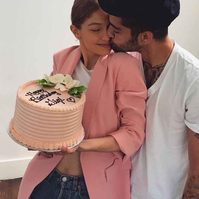 Бойфренд Джиджи Хадид трогательно поздравил ее с днем рождения
