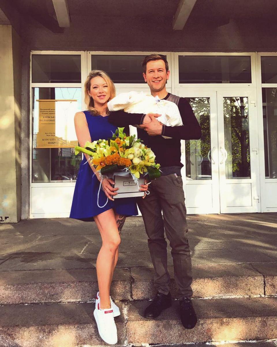 Дмитрий Ступка и его жена выбрали необычное имя для своей новорожденной дочери