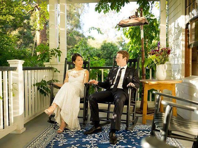 Пять лет вместе: Марк Цукерберг поздравил супругу с годовщиной свадьбы