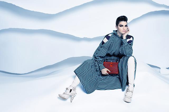 Поклонники раскритиковали новую фотосессию Кендалл Дженнер для Fendi