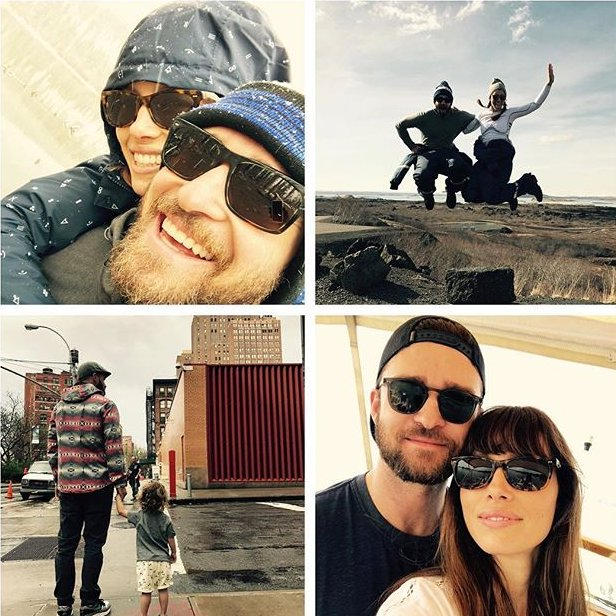 Джастин Тимберлейк и Джессика Бил растрогали поклонников семейными фото