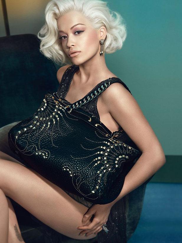 Рита Ора в рекламе Roberto Cavalli