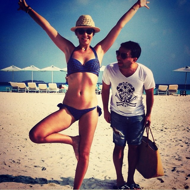 Ксения Собчак фото на мальдивах 2014 инстаграм