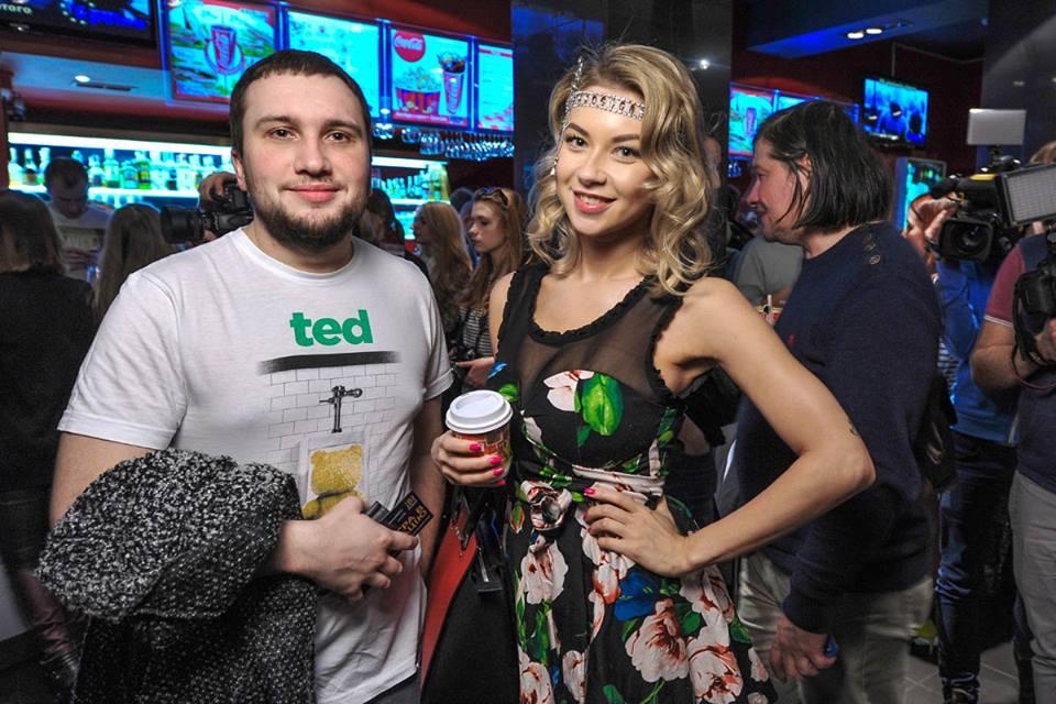 Полина Логунова с женихом Богданом Зваричем