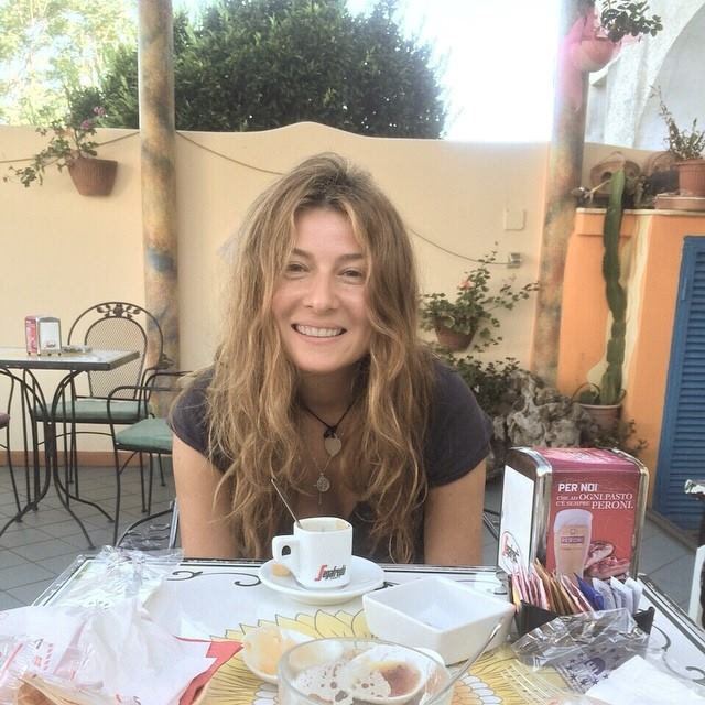 Жанна Бодоева на отдыхе в Италии