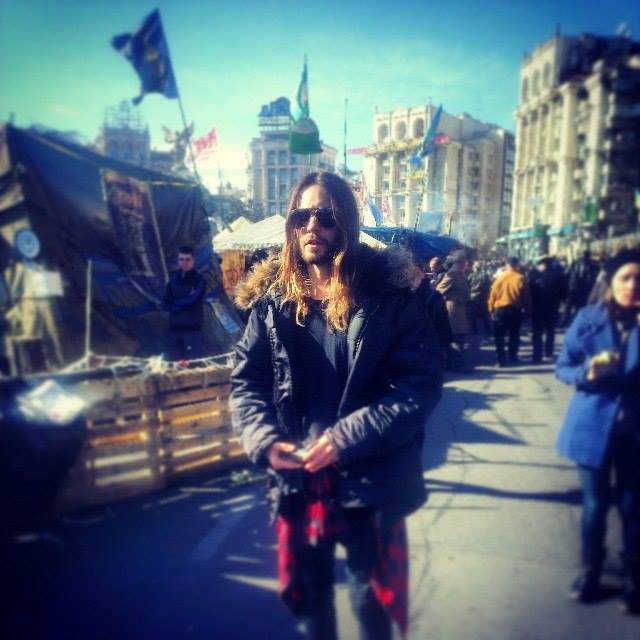 Джаред Лето фото Евромайдан