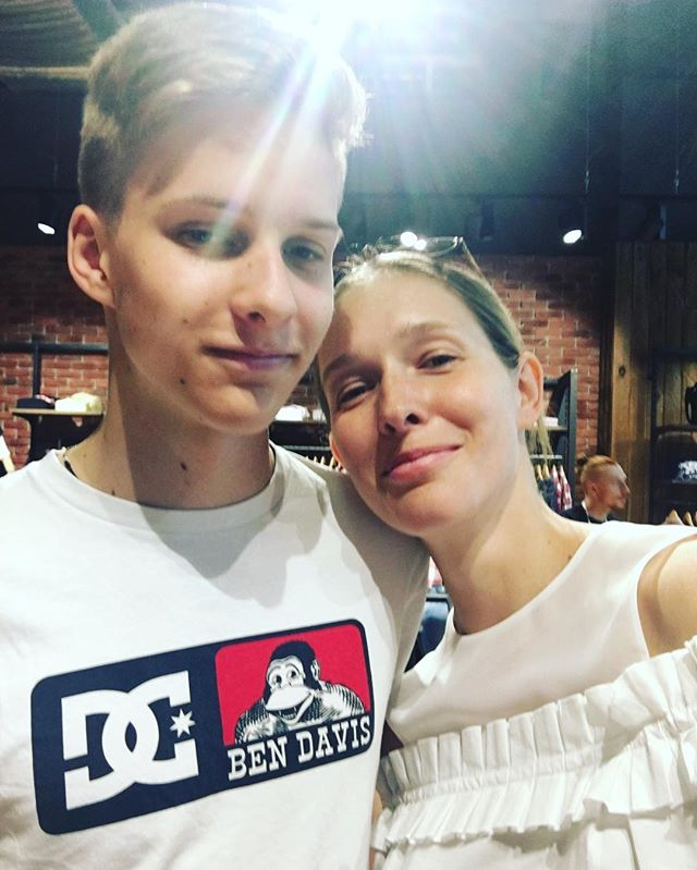 Мальчик вырос: Катя Осадчая опубликовала фото со старшим сыном
