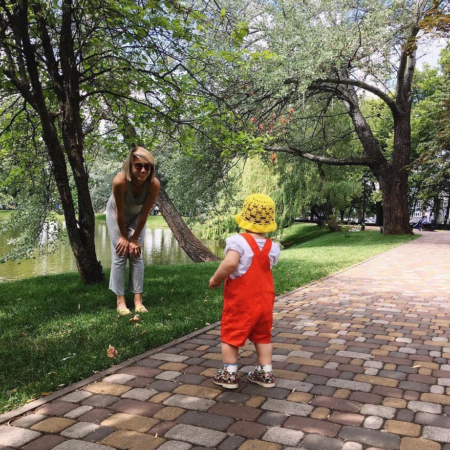 Фотофакт: маленькая дочь Аниты Луценко растет настоящей модницей
