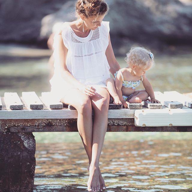 Летнее счастье: Инна Цимбалюк отдыхает с подросшей дочерью