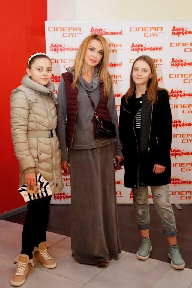Ольга Сумская с дочерью Аней