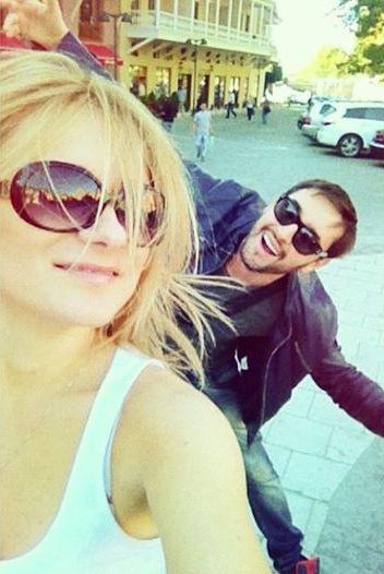 Виталий Козловский и его девушка Надя фото 2014
