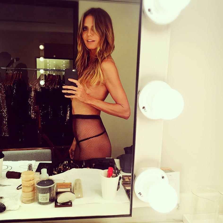 Хайди Клум обескуражила поклонников голым фото