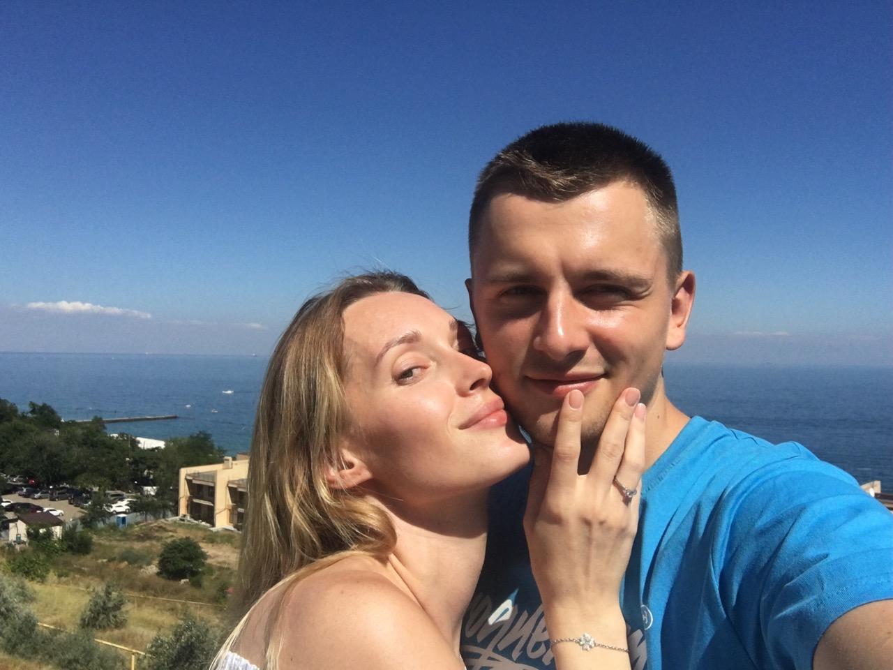 Аида Николайчук и ее жених Никита