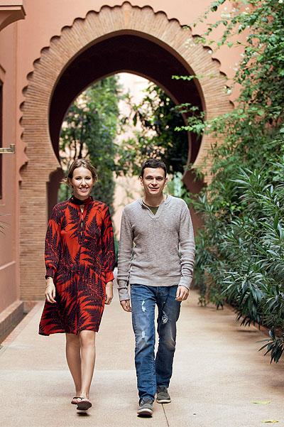 Ксения Собчак и Илья Яшин на отдыхе