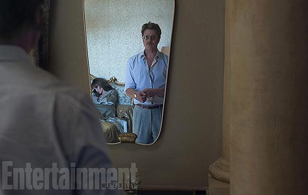 """В сеть попали новые кадры фильма """"У моря"""" с Анджелиной Джоли и Брэдом Питтом"""