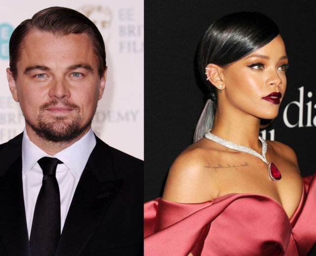 СМИ обсуждают звездный роман Леонардо Ди Каприо и Рианны