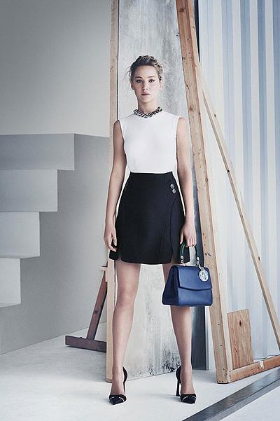 Благородная простота: элегантная Дженнифер Лоуренс снялась в промо-кампании Dior