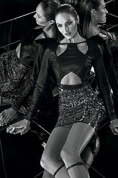 Горячая штучка: Кэндис Свэйнпол позирует в новой рекламной кампании