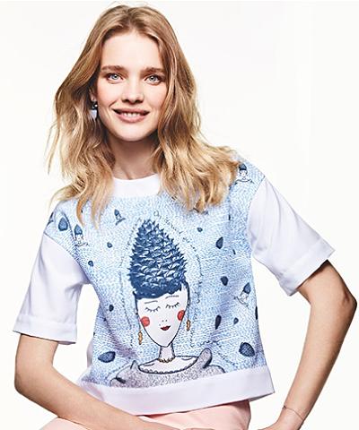 Наталья Водянова снялась в рекламной кампании благотворительного проекта