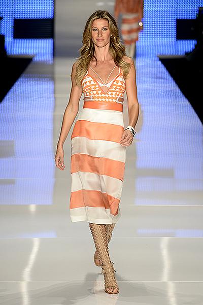 Жизель Бундхен признана самой высокооплачиваемой моделью в мире