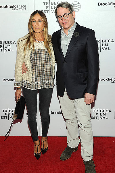 Счастливы вместе: Сара Джессика Паркер блистает на публике вместе с мужем