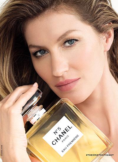 Полуголая Жизель Бундхен снялась в рекламной кампании Chanel №5