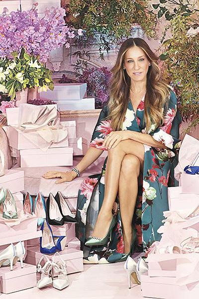 Сара Джессика Паркер создала линию туфель для невест