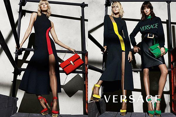 Дерзкая и сексуальная Карли Клосс стала лицом новой коллекции Versace