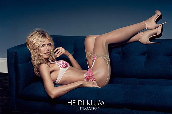 Хайди Клум разделась для рекламы собственного бренда нижнего белья