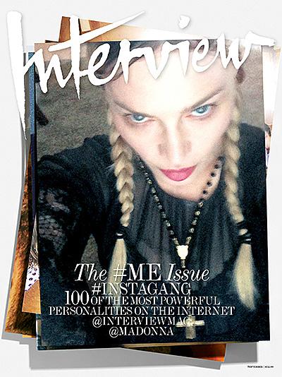 Дженнифер Лопес, Виктория Бекхэм, Ким Кардашьян: звезды сделали уникальные селфи для обложек журнала Interview