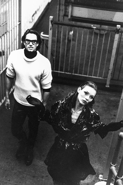 Привет из 90-х: в сеть попали эксклюзивные снимки юной Кейт Мосс