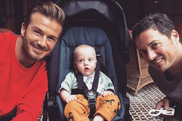 Лив Тайлер выложила трогательное фото новорожденного сына с Дэвидом Бекхэмом