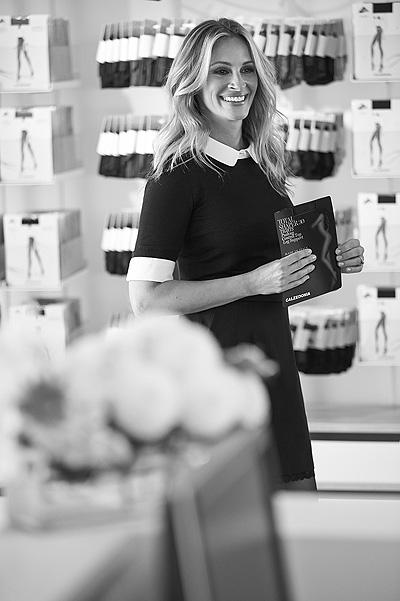Всегда юная и прекрасная Джулия Робертс снялась в рекламе модного бренда
