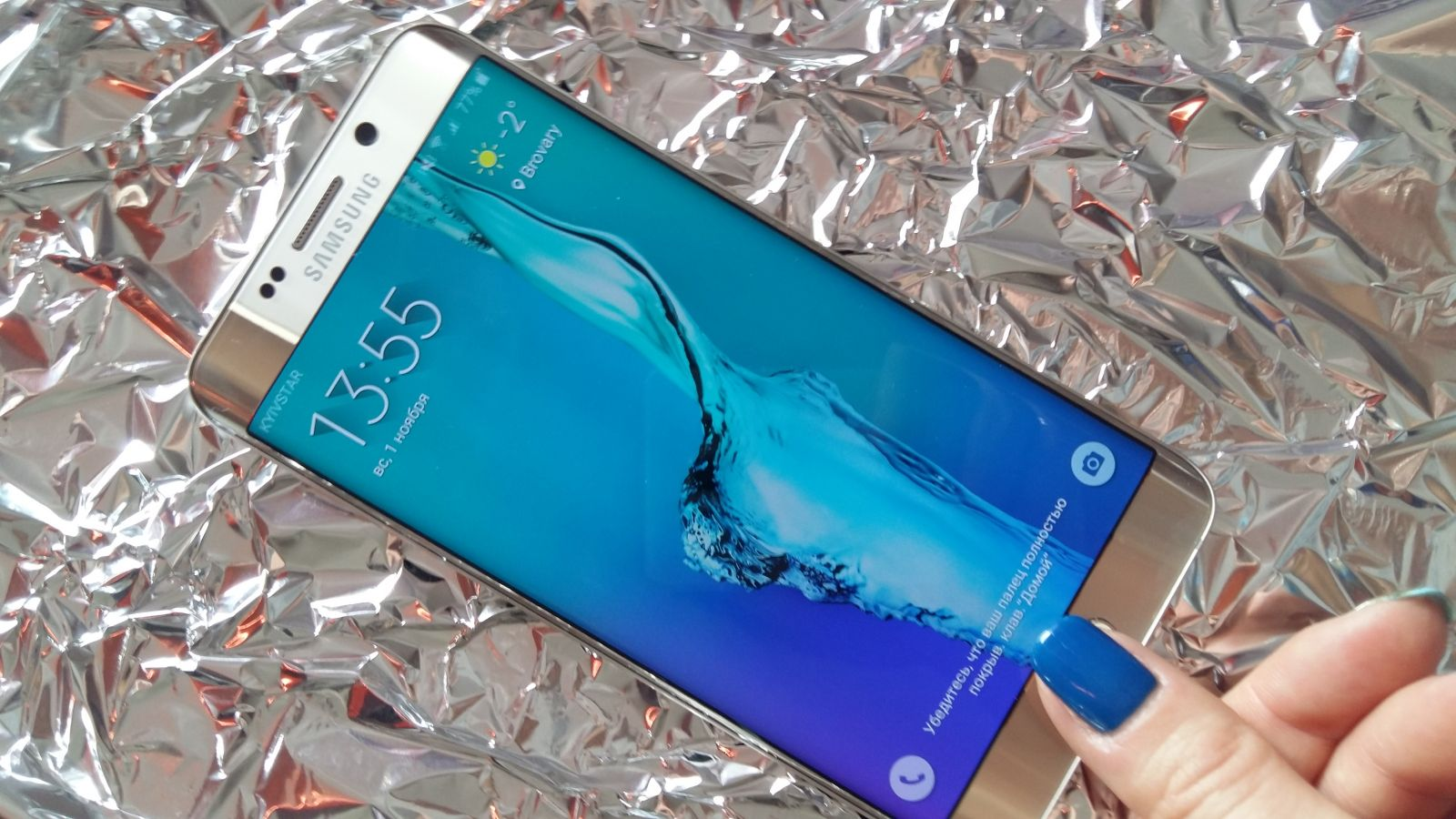 Samsung Galaxy S6 Edge + обзор