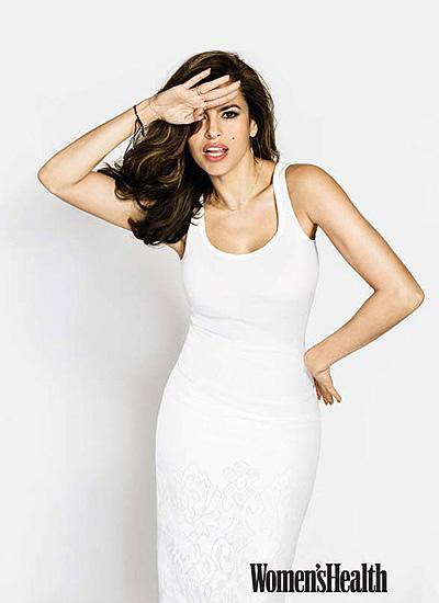 Красотка Ева Мендес украсила обложку Woman's Health