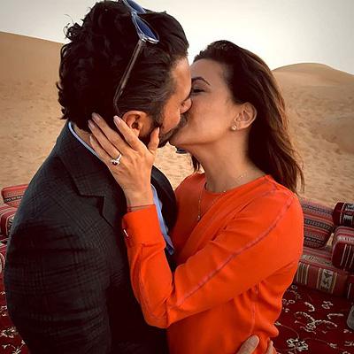 Звездная вечеринка в Дубае: Ева Лонгория празднует помолвку