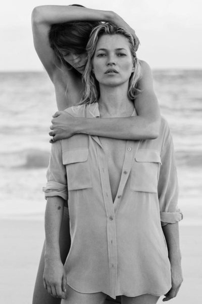 Соблазнительные Кейт Мосс и Дарья Вербова снялись в фотосессии на острове