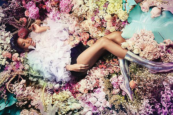 Дочь Уилла Смита снялась в роскошной рекламе носков собственного дизайна