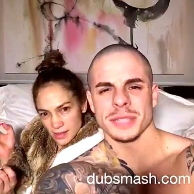 По-домашнему: возлюбленный Дженнифер Лопес поделился семейным видео из их спальни