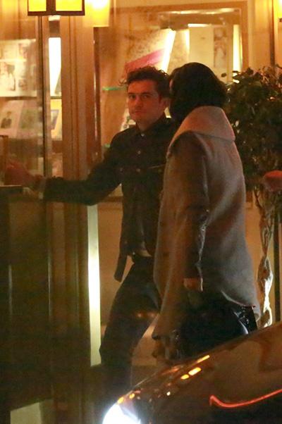 Орландо Блум и Кэти Перри сходили на романтическое свидание