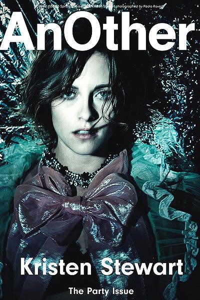 Кейт Мосс и Кристен Стюарт украсили юбилейные обложки AnOther Magazine