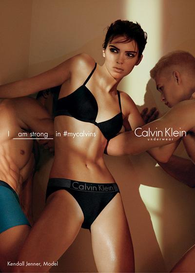 Еще горячее: в сети появились новые снимки Кендалл Дженнер для Calvin Klein